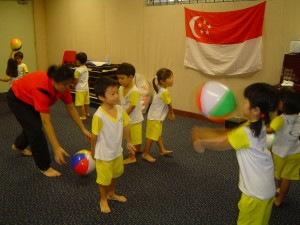 10. Coordination-Volleyball practice