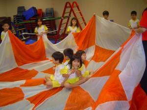12. Parachute Play