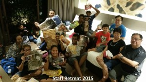 Staff Retreat 2015